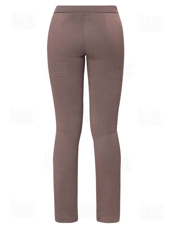 Pantalonde Gabardina color caqui para dama