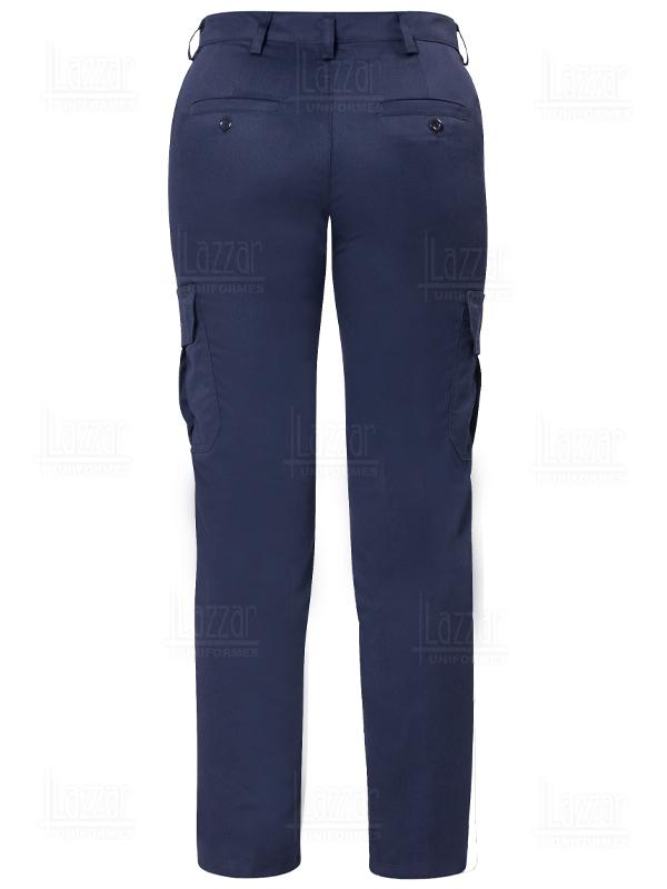 Pantalones tipo Cargo color azul