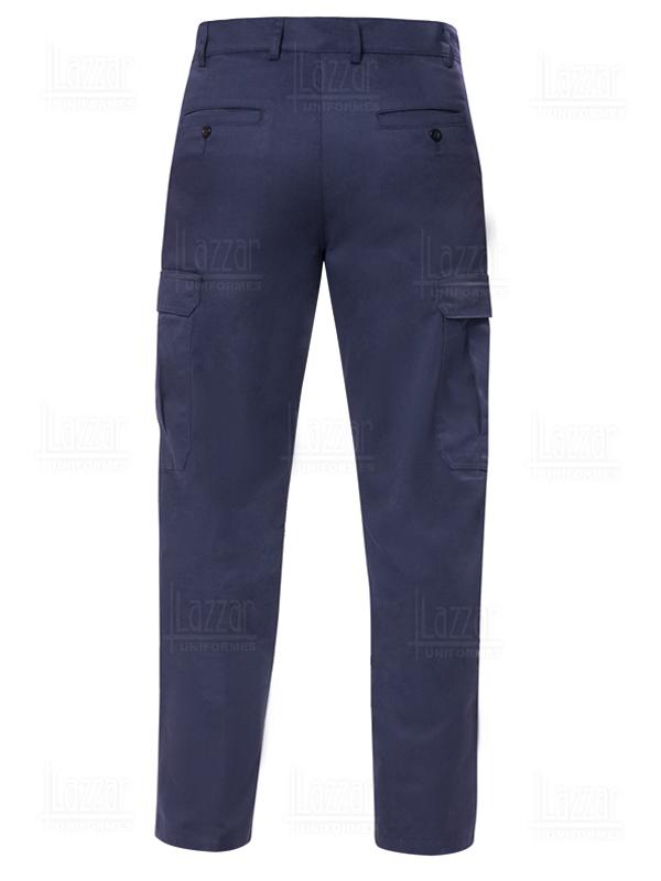 Pantalon tipo Cargo color marino