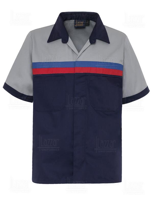 Camisola industrial QC color marino