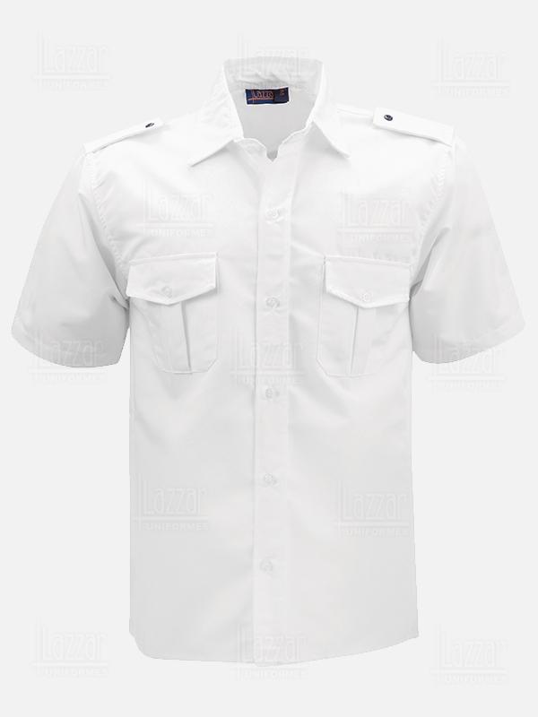Camisola para policia color blanca