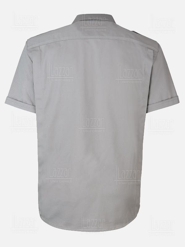 Camisola para policia color gris
