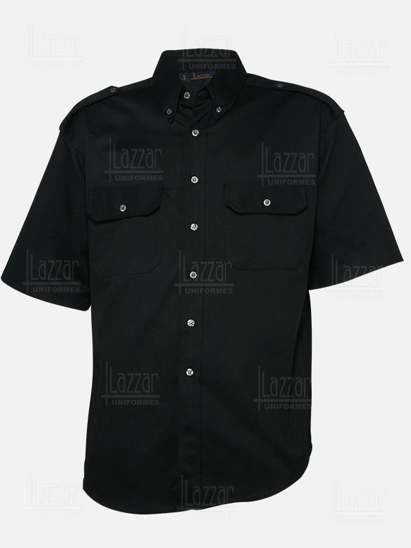 Camisola para policia color negra