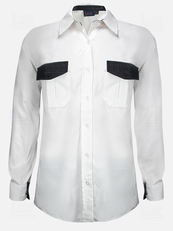 Camisola de seguridad color blanca