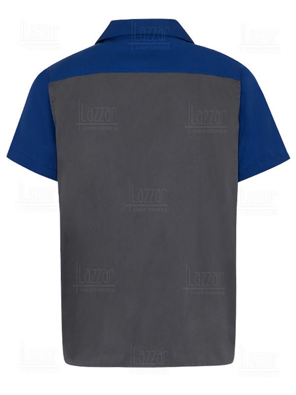 Camisola para mecanicos color gris