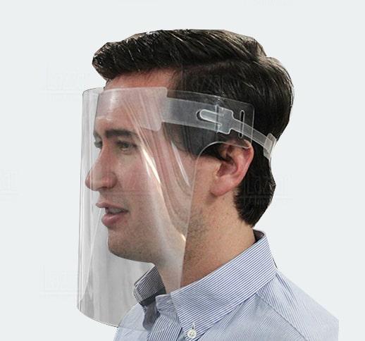 Careta de protección facial PETg